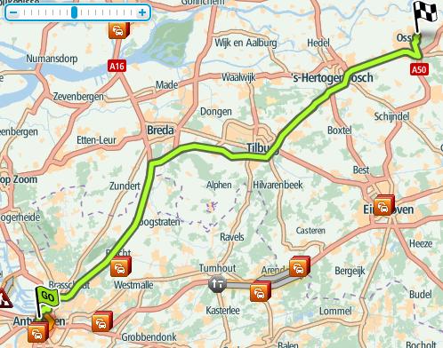 Route België